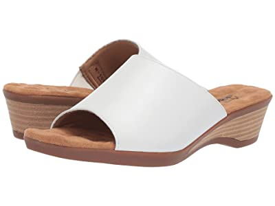 Walking Cradles Kerry (White Leather) Women