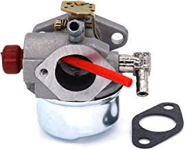 FitBest Replacement Carburetor for Tecumseh 640339 LEV90 LV148EA LV148XA LV156EA LV156XA Engines with Gasket
