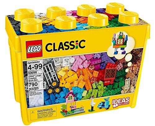 LEGO Classic Caja de Ladrillos Creativos Grande - juegos de construcción (Multicolor, 4 año(s), 790 pieza(s), Niño/niña, 99 año(s), 6 cm)