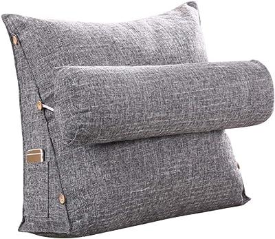 Amazon.com: CHUDAN+ - Cojín de cuña triangular tapizado para ...