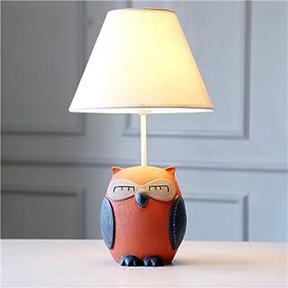 Lampes de Bureau Chambre d'enfants Cartoon Owl Lampe de Table LED Chambre Lampe de Chevet Creative Boy Girl Lampe de Table...