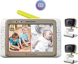split screen video baby monitor