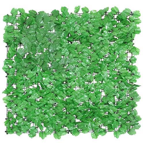 不二貿易 グリーンフェンス 1×1m ライトグリーン