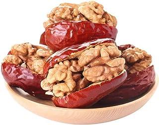 Fechas roja de la nuez, dátil nuez Núcleos de vacío envases pequeños, para los ancianos y los niños Snacks, la mujer embarazada desayuno nutritivo, Recuerdos,3000g