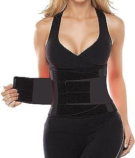 HLGO 's Waist Trainer Belt for Women - Waist Cincher Trimmer - Slimming Body Shaper Belt - Sport Girdle Belt (UP Graded)