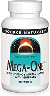 Source Naturals Mega-One Multi-Vitamin with Minerals - 30 Tablets