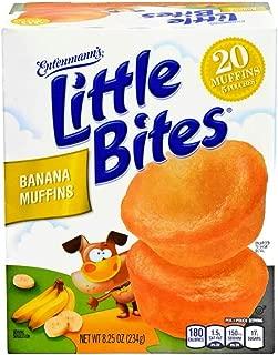 Entenmann's Little Bites 5 ct Banana Muffins 8.25 oz (Pack of 6)
