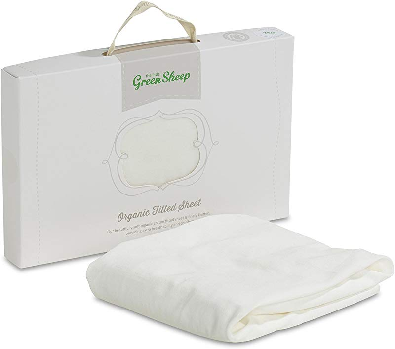 The Little Green Sheep Organic Crib Jersey Fitted Sheet