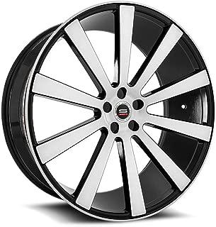 SPEC-1 Luxury SPL-002 Gloss Black Brushed Wheels (22x10.5
