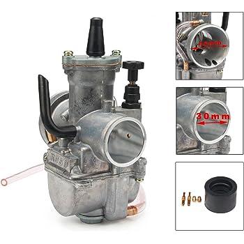 JFG RACING 30/mm PWK 30/Power Jet Vergaser Carb f/ür Motorrad Racing ATV Roller Dirt Pit Bike