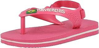Havaianas Baby Brasil Logo II, Sandalias Unisex niños