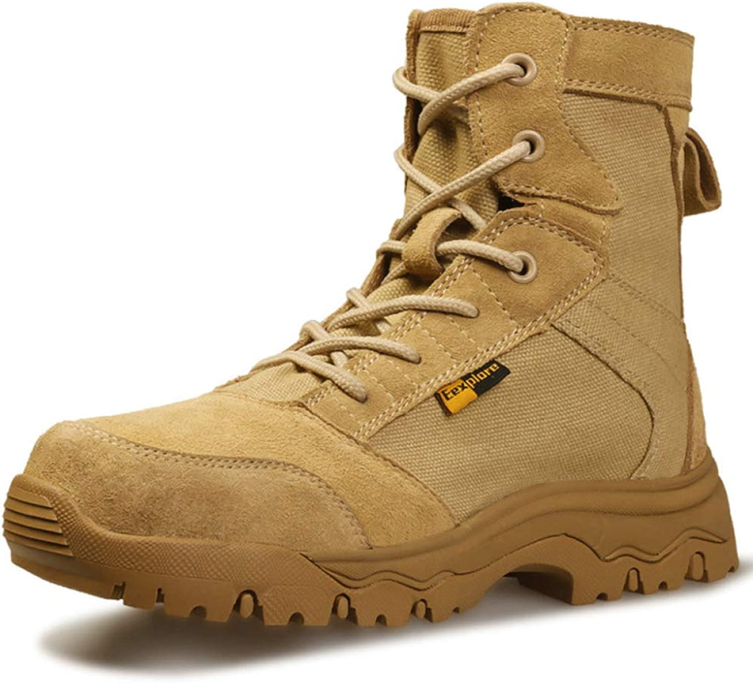 Mens Ultralight Military Army Combat Boots Desert Special Forces Breathable Armed Tactics shoes Outdoor Mountaineering High Top Footwear