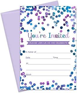 Best purple birthday invitations Reviews