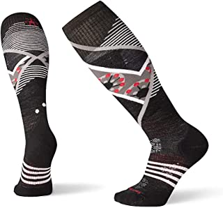 Smartwool Women's PhD Ski Sock- Light Elite Pattern Over the Calf Merino Wool Performance Sock