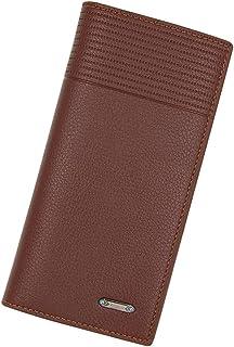 BeniMen's long wallet multi-function multi-card wallet-light brown