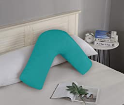 1000TC Ultra Soft V Shape Pillowcase Cover 78 x 36cm (Teal)