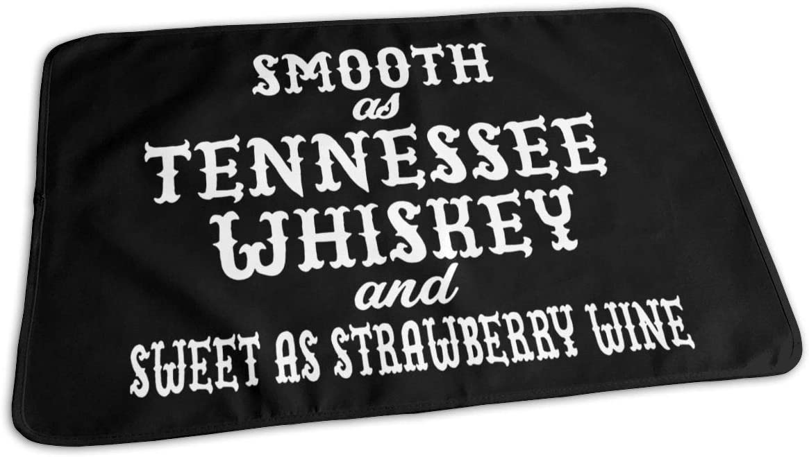 New York Mall UAJAR Smooth As Tennessee Whiskey Pad Reusable Changing Cov Baby Soldering