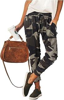 Surenow Womens Drawstring Harem Sweatpants Pants Loose Jogger Running Pants Comfy Lounge Yoga Workout Pants with Pockets