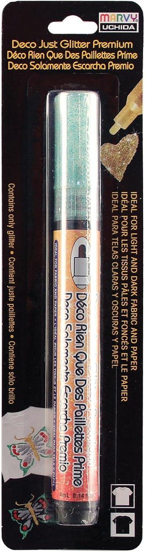 Deco Farbe Just Glitter Premium Fabric Paper Marker Carded-Grün Carded-Grün Carded-Grün B01LYNIUOP   Mode-Muster  03fcf6