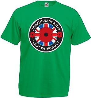 lepni.me Camisetas Hombre Día de la conmemoración - para Que no Nos olvidemos