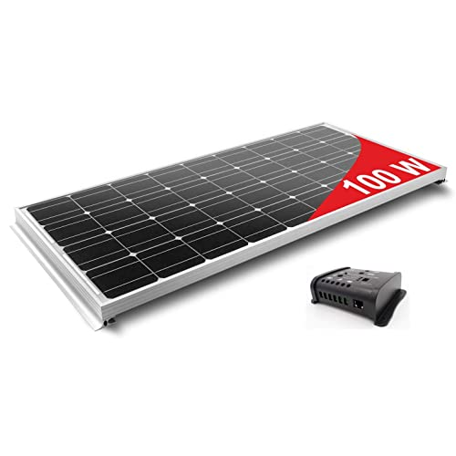 100W Solar Panel Kit: Amazon co uk