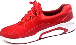 APS Men Red Canvas Shoes
