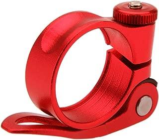 Negro//Rojo//Azul//Dorado//Plata 31.8mm /& 34.9mm DAZISEN Bicicleta Asiento Abrazadera Trasera Aleaci/ón de Aluminio Abrazadera Fijaci/ón para Aill/ín Bicicleta