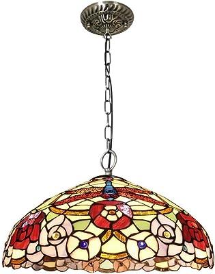 Amazon.com: Tiffany Style Chandelier Lamp 3 Light, Single ...