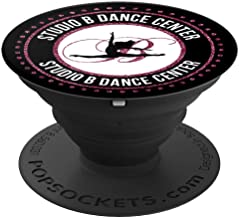 Studio B Dance Center - Glitz Design - PopSockets Grip and Stand for Phones and Tablets