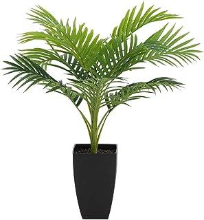ルームアンドホーム 人工観葉植物 園芸 造花 アレカヤシ 83×83×70cm 人工 観葉植物