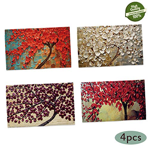 Morbuy Arte Mantel Individual de Lino y Algodón, Lindo Pintura al óleo Impresión Lavables Fácil de Limpiar Juego de Manteles Resistentes al Calor y al Desgaste Decoración (b)