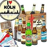 I love Köln/Köln Geburtstag Geschenk/Biersorten der Welt