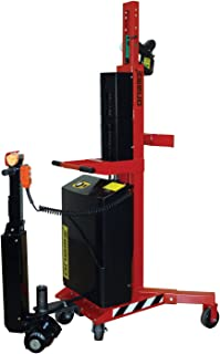 64 Lift Height Wesco Industrial Products 261050 Fixed Base Leg Fork Model Powered Stacker Load Capacity 50 Inside Base Leg Span 83 Overall Height 2,000-lb