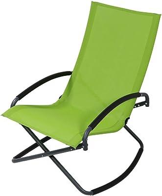 Amazon.com : Rocking Chairs MEIDUO Bamboo Adjustable ...