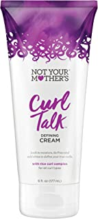 Not Your Mother's Not Your Mothers Curl Talk Defining Cream 6 Ounce (177Ml) (2 Pack)