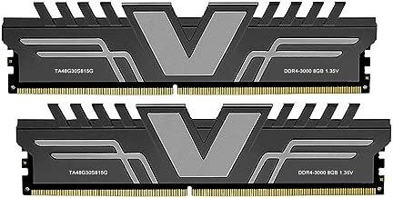 V-Color Skywalker Series 16GB (2 x 8GB) DDR4 3000MHz (PC4-24000) CL15 1.35V Desktop Memory Model Grey (TA48G30S815GK)