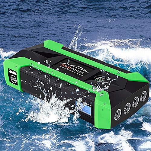 Sale!! LINGYAO Large-Capacity Car Starter Multi-Function Night Lighting Digital Charging Safe Waterp...