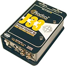 Radial J33 2-Channel Active Turntable Preamp Direct Box