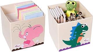 Amazon.es: cajas de almacenaje 33x33 - Muebles: Hogar y cocina