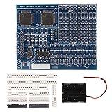 SMD SMT Component Welding Practice Board, MELIFE DIY Soldering Kit Skill Training Board Led Transistor Set