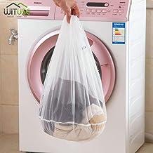 Drawstring Washing Machine Laundry Bags Fine Mesh Bra Nylon Washing Bags Underwear Cover Washing Bag Travel Organizer 3 Si...