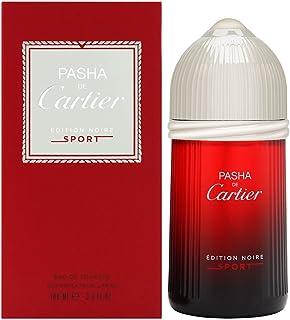 Pasha De Cartier Edition Noire Sport by Cartier for Men Eau de Toilette 100ml, 1965100006