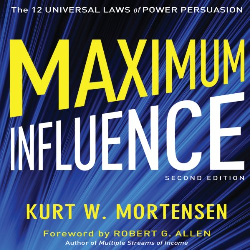 Maximum Influence: 2nd Edition audiobook cover art