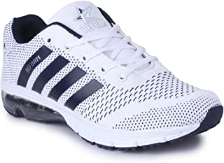 REFOAM Men's L10 White Running Shoes