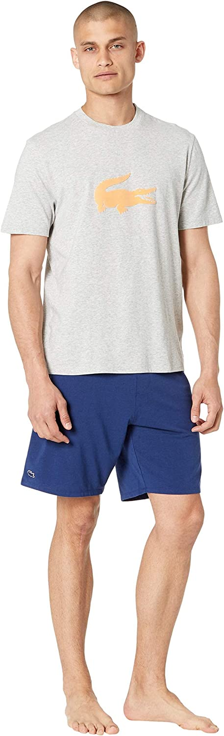 Lacoste Men's Jersey Cotton Baltimore Don't miss the campaign Mall Pajama Short Set