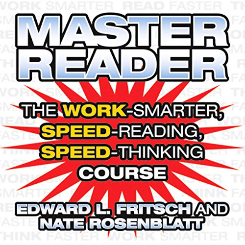 Master Reader audiobook cover art