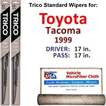 Best 1999 toyota tacoma wiper blade size Reviews