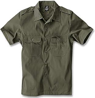 Brandit Us Hemd Kurzarm Camisa para Hombre