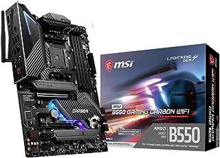 MSI MPG B550 Gaming Carbon WiFi AM4 4xDDR4 5xPCIE 2xM.2 DP HDMI RAID LAN 6xSATAIII 2xUSB3.2 8xUSB2.0