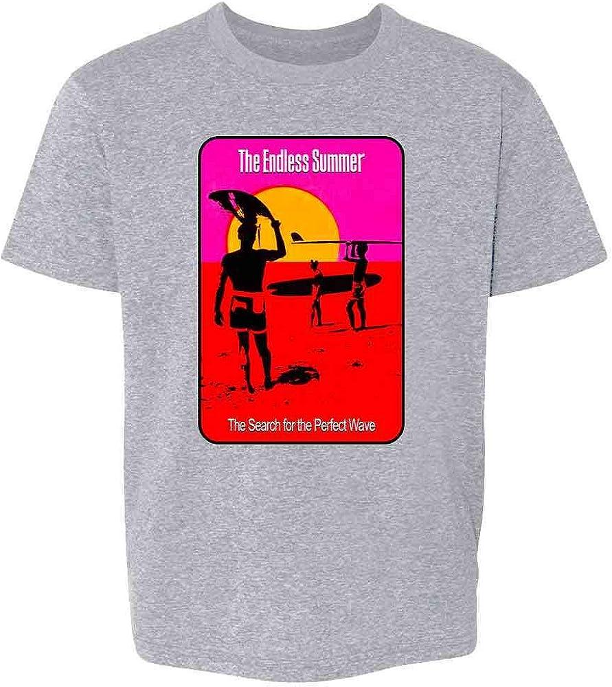 Pop Threads The Endless Summer Movie Surfing Surfer Retro 60s Toddler Kids Girl Boy T-Shirt